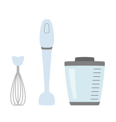 blender simple icon isolated household appliance vector image