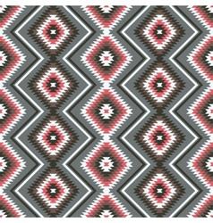 Ethnic ornament geometric seamless pattern vector image