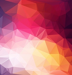Abstract color Geometric Background for Design vector image