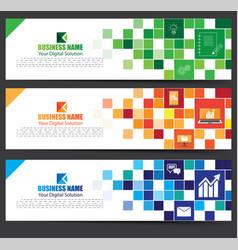 Banner design vector