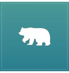 Bear symbol vector image