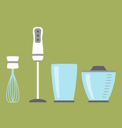 Blender simple icon isolated household appliance vector