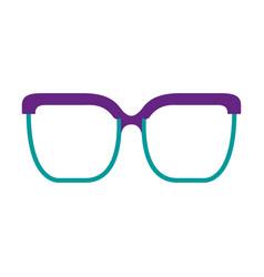 classic glasses accessory fashion icon vector image