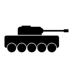 Panzer icon vector image