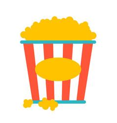popcorn pack vector image