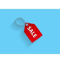 Sale Red Icon vector