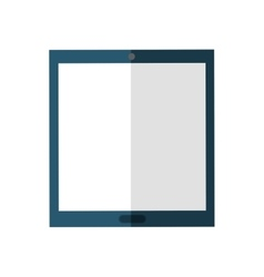 Tablet icon gadget and technology design vector