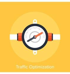 Traffic Optimization vector