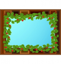 window frame vector image