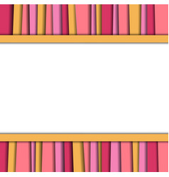 abstract background colorful layer texture vector image vector image