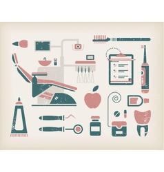 Dentist icon vector image vector image