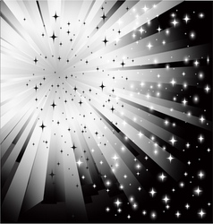 abstract black white background vector image