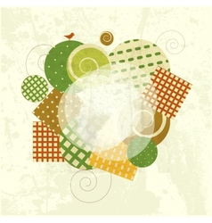 Abstract Modern Frame vector image vector image