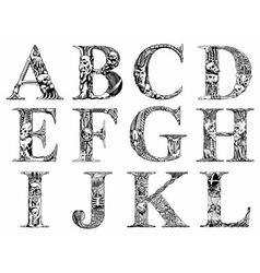 Death font vector