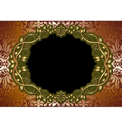 gold brown background vector image