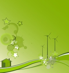 green house vector image