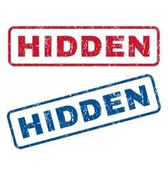Hidden Rubber Stamps vector