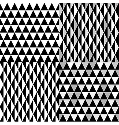 pattern geometric black vector image