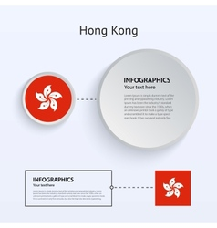 Hong Kong Country Set of Banners vector image