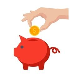 Money Savings Icon vector image