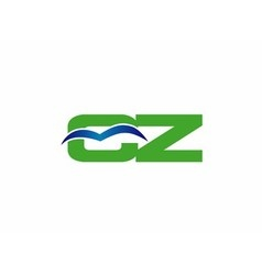 Cz logo vector