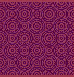 purple flower seamless pattern background vector image