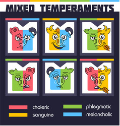 Set mixed temperaments vector