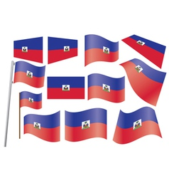 flag of Haiti vector image vector image