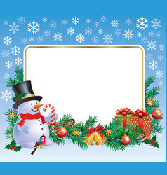 New Year greetings vector image