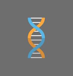 dna molecule icon medicine care concept vector image
