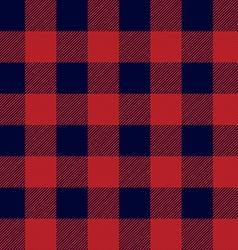 Lumberjack Plaid Seamless Pattern vector image vector image
