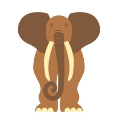 African animal elephant vector image