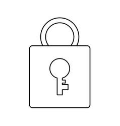 Pad lock vector