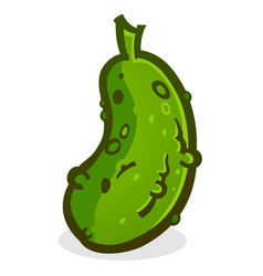 Pickle cartoon vector