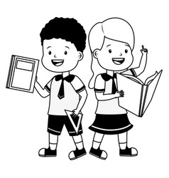 student back to school vector image