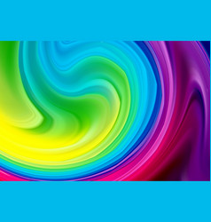 wave background abstract colorful poster with 3d vector image