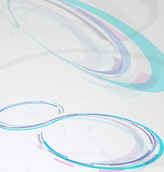 Web circular banner - transparent background vector image