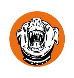 Angry Mongrel Dog vector
