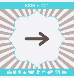 arrow icon symbol graphic elements for your vector image