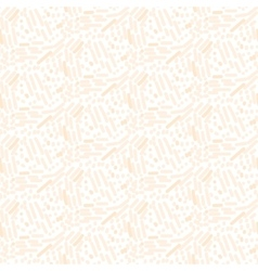 Chaotic pink cream strokes seamless pattern vector