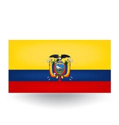 Ecuador Flag vector image