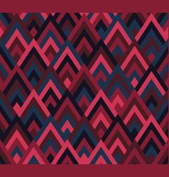 Seamless pattern rhombus style vector