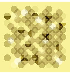 Transparent circles vector image