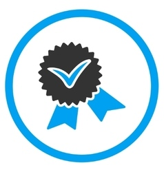 Validation Stamp Icon vector