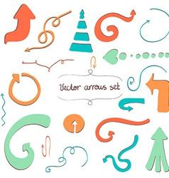 Arrows5 vector image