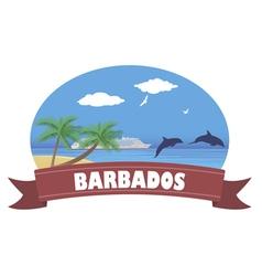 Barbados vector