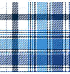 blue diagonal abstract plaid seamless pattern vector image