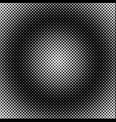 halftone dot pattern background template vector image