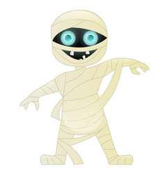 mummy cute cartoon character vector image