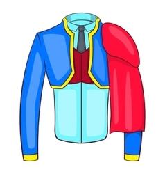 Spanish matador suit icon cartoon style vector